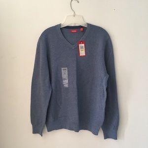 NWT Izod Blue Heather Sweater.